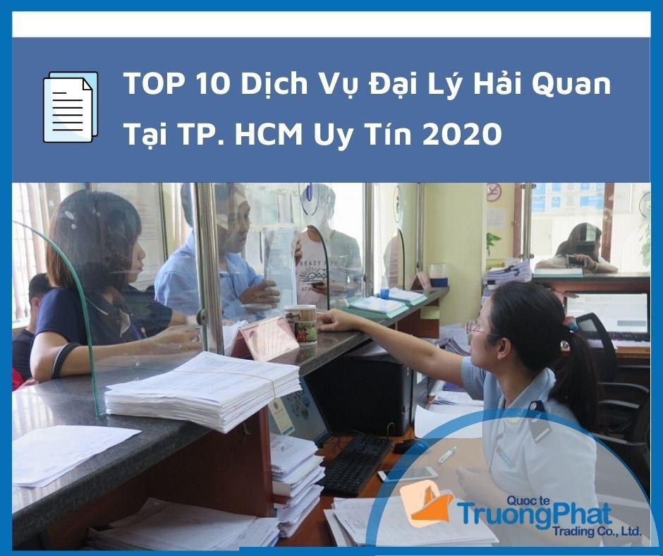 Top 10 dịch vụ đại lý hải quan tại tp.hcm |【 uy tín】