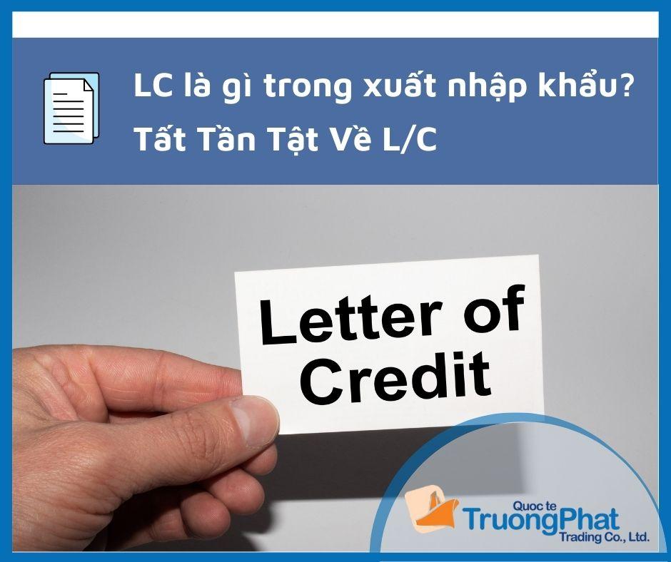 LC là gì trong xuất nhập khẩu?