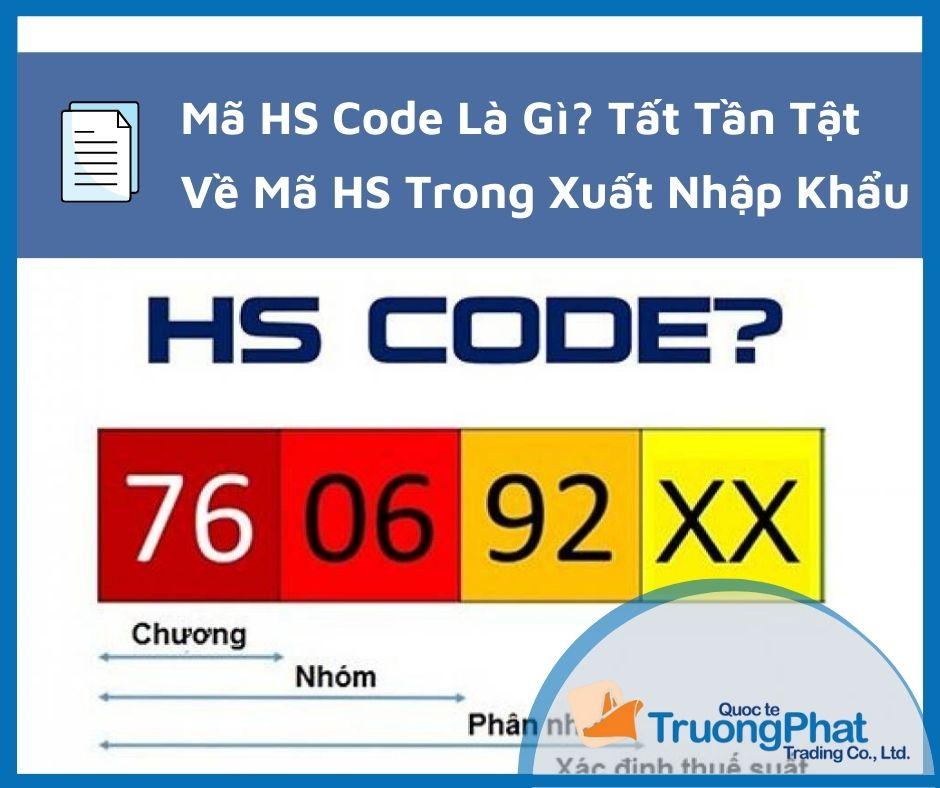 Mã HS Code Là Gì? Tất Tần Tật Về HS Code Trong Xuất Nhập Khẩu